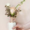 Dusty Rose Porcelain Vase – The Littlest Fry
