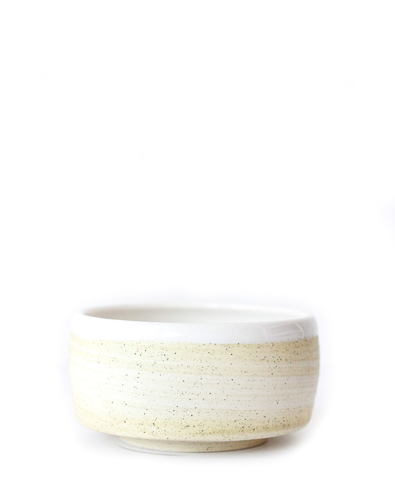Speckled Yellow Bowl – The Littlest Fry