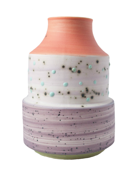 ben-fiess-speckled-colored-vase