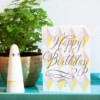 Happy Birthday Geometric Card – The Littlest Fry