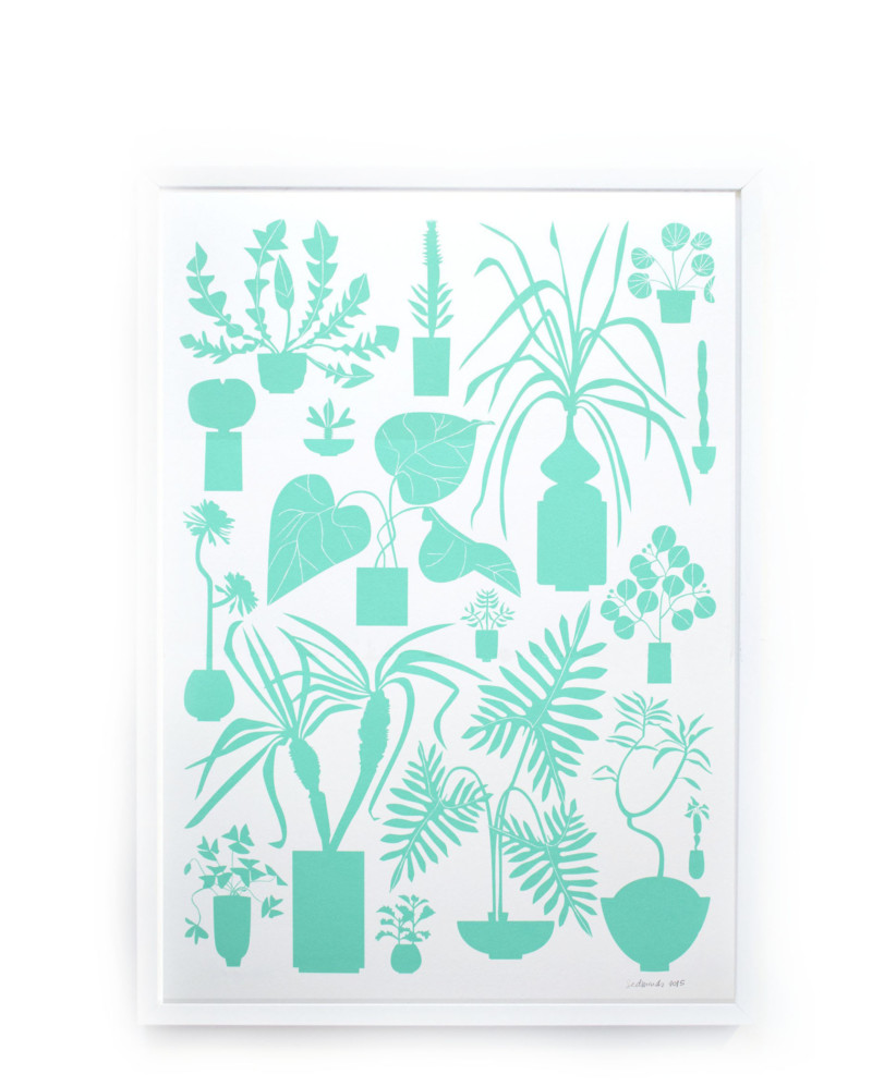 House Plants Screen Print – The Littlest Fry