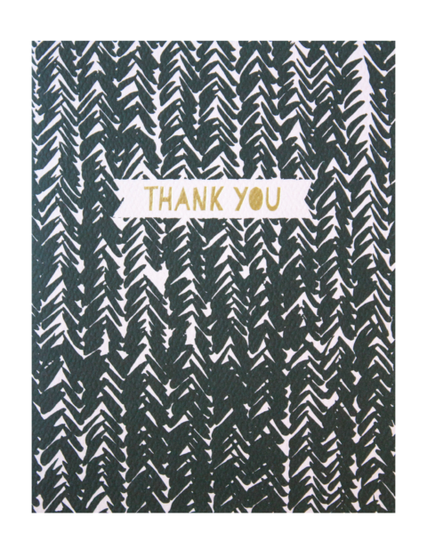 Weave Thank You Cards - The Littlest Fry