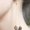 Dangling Gemstone Earrings – The Littlest Fry
