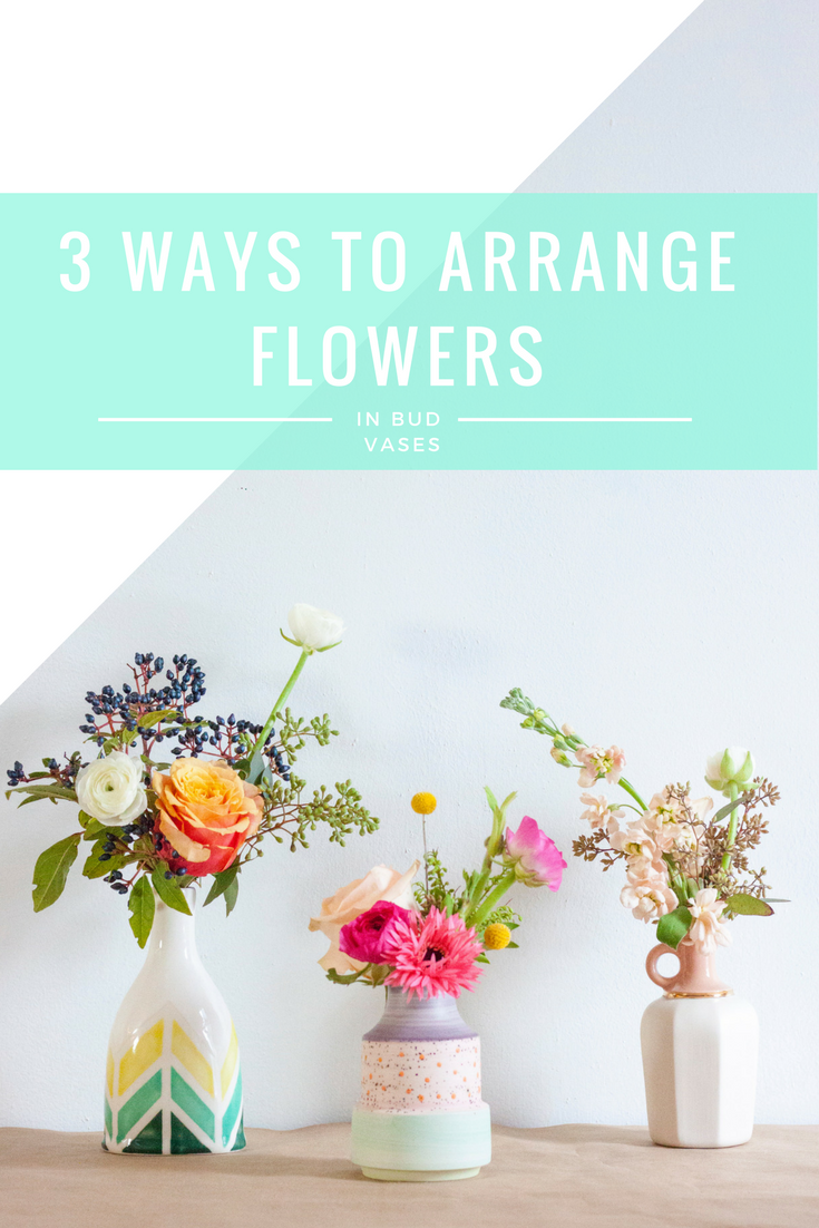 3-ways-to-arrange-flowers-in-bud-vases
