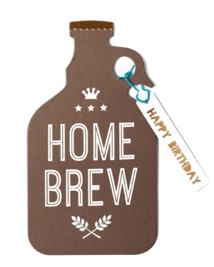 Home Brew Birthday Card