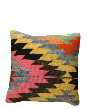 "16"" Vintage Turkish Kilim Pillow"
