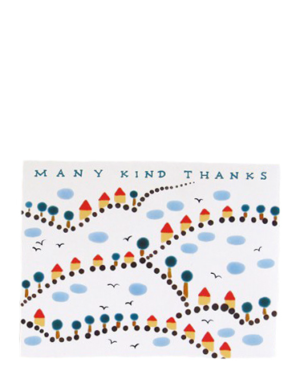 Many Kind Thanks Card