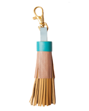 Mini Leather Tassel