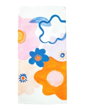Garden Mirage Floral Tea Towel