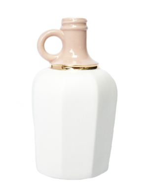 Dusty Rose Porcelain Vase