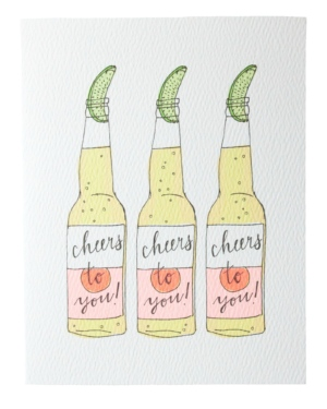 Cheer to You Beer Card