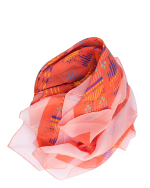 Red Llano Scarf