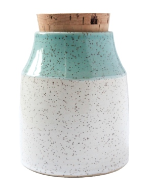 Ceramic Coloured Dipped Canister