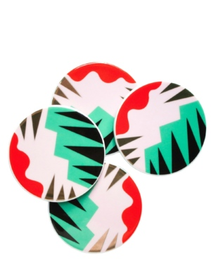 Colourful Pattern Coasters