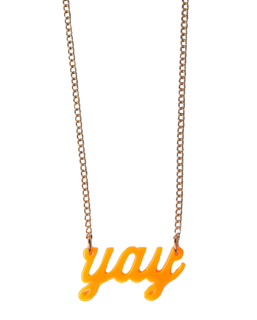 Yay Necklace – The Littlest Fry