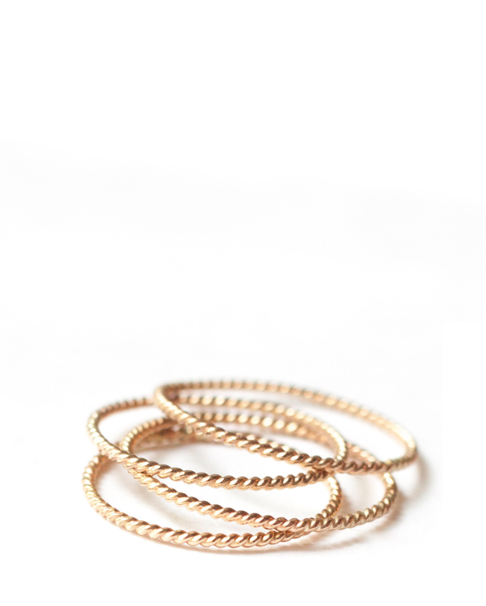 Braided Gold RIng – The Littlest Fry