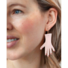Polished Hand Earrings – The Littlest Fry
