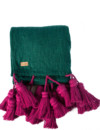 Kip & Co Emerald Tassel Throw – The Littlest Fry