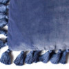 Velvet Marine Blue Tassel Cushion – The Littlest Fry