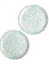 Blue Speckled Lido Bamboo Plates – The Littlest Fry