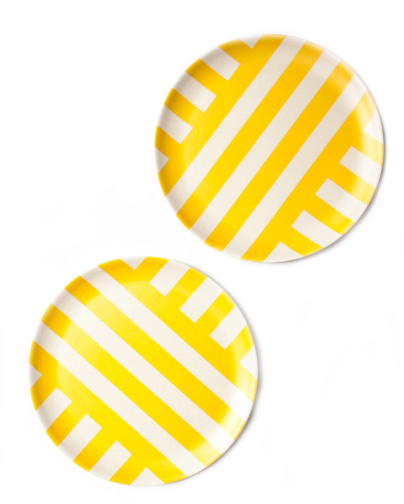 yellowamalfibambooplates
