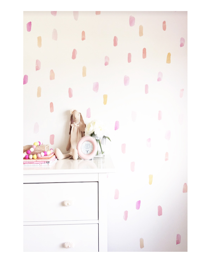 Paint Stroke Wall Decals – The Littlest Fry