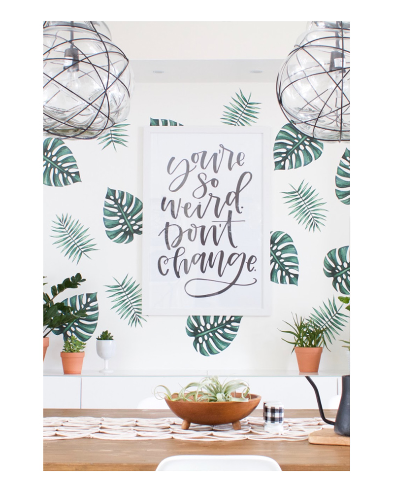 Palm Branches Wall Decals – The Littlest Fry