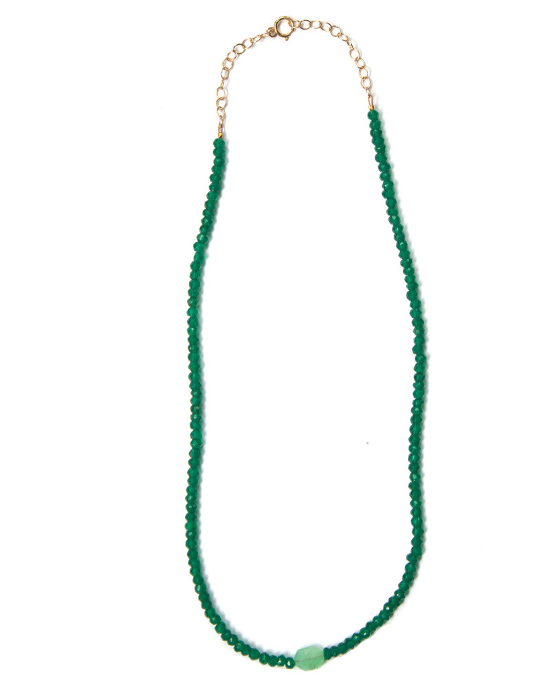 Green Onyx Choker – The Littlest Fry
