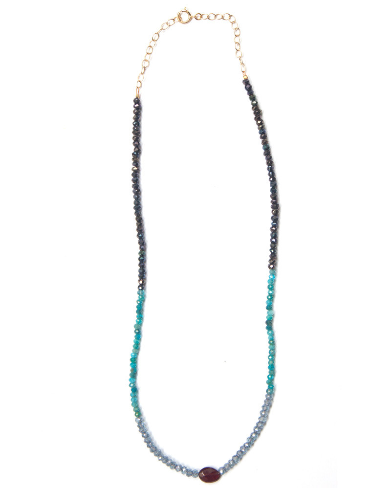 Multi-Colour Stone Choker – The Littlest Fry