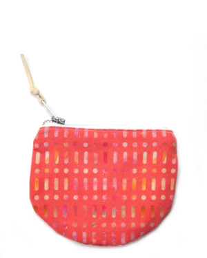 red-patterned-cotton-pouch
