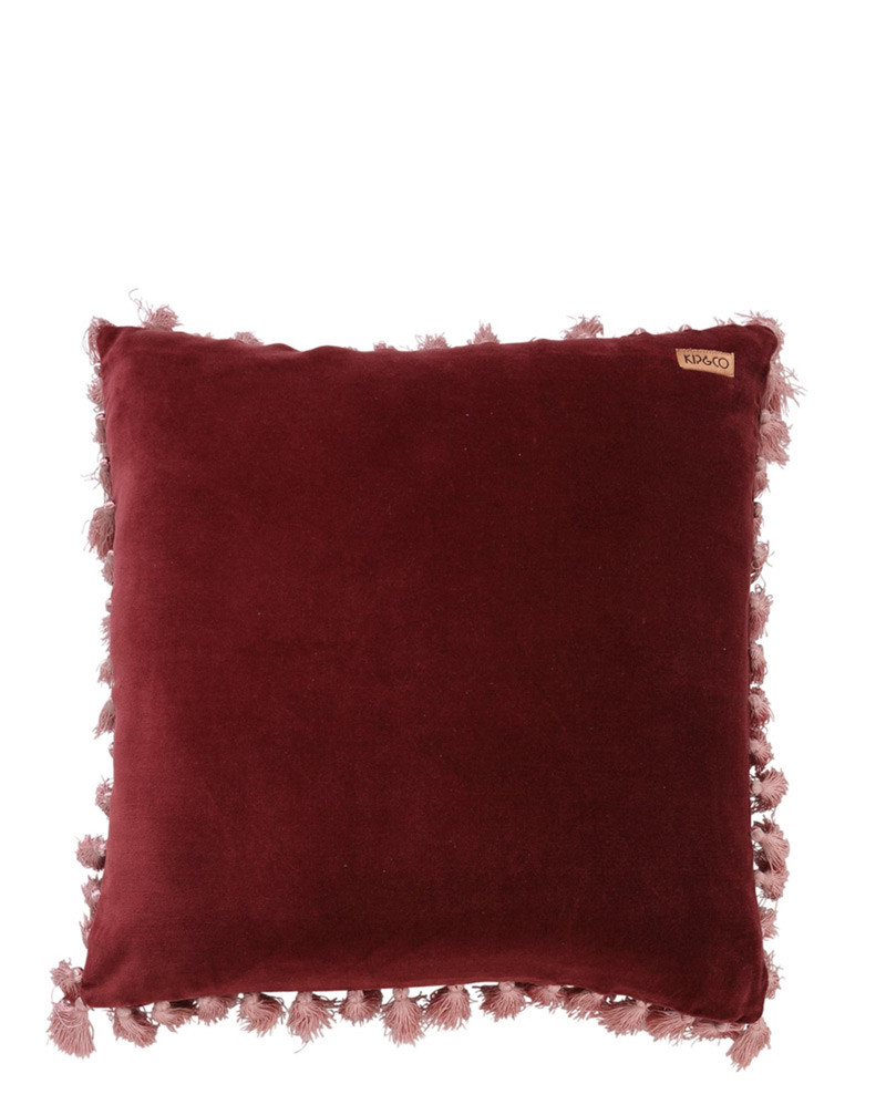 Kip & Co Pomegranate Tassel Pillow – The Littlest Fry