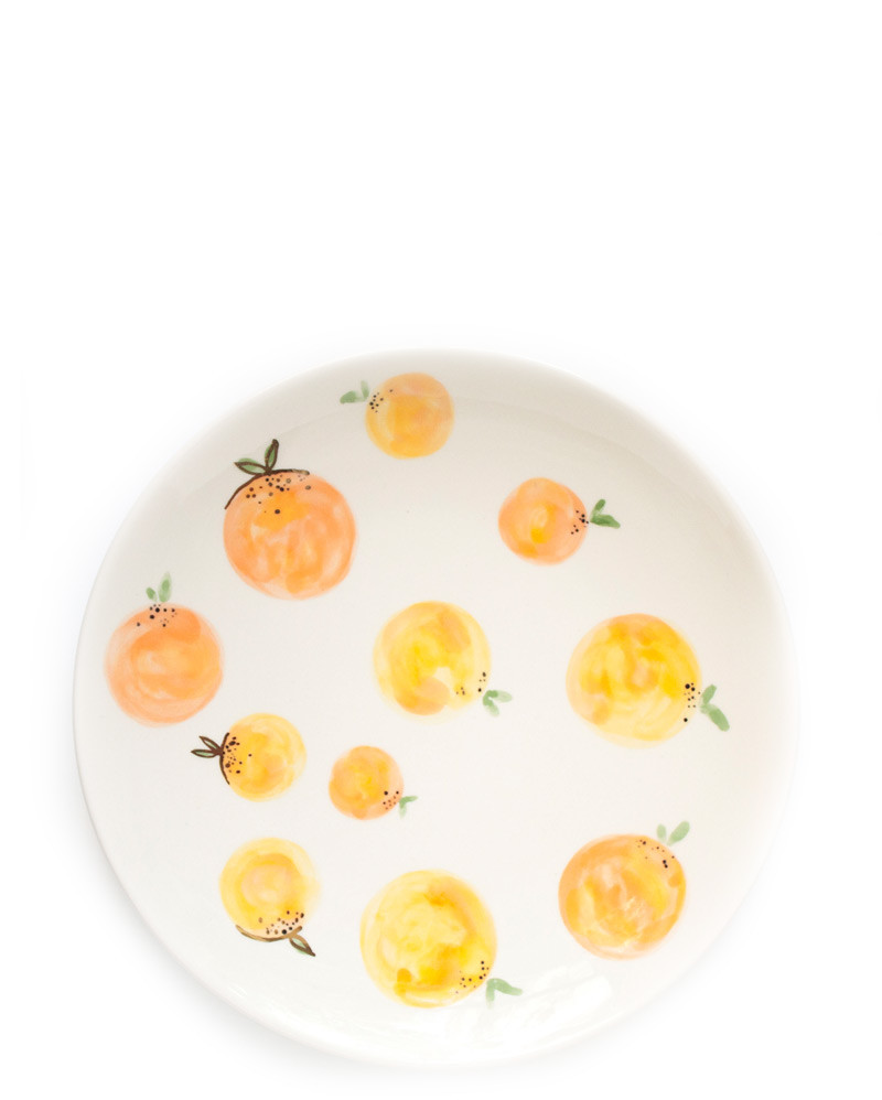 Clementine Plates – The Littlest Fry