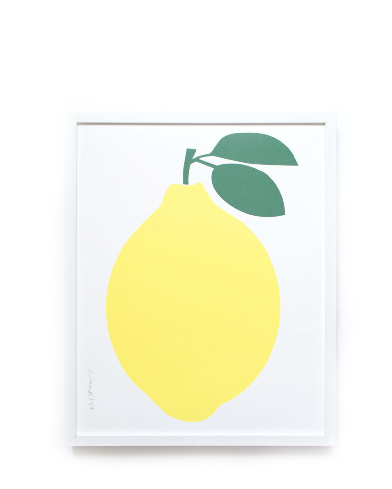 Lemon Screen Print – The Littlest Fry