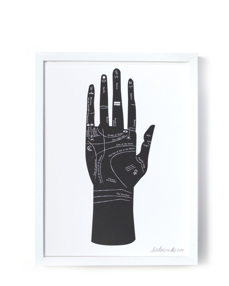 Palmistry Screen Print – The Littlest Fry
