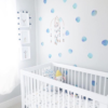 Watercolor Polka Dot Wall Decals – The Littlest Fry