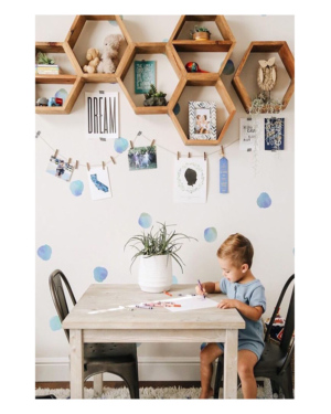 watercolor-polka-dot-wall-decals