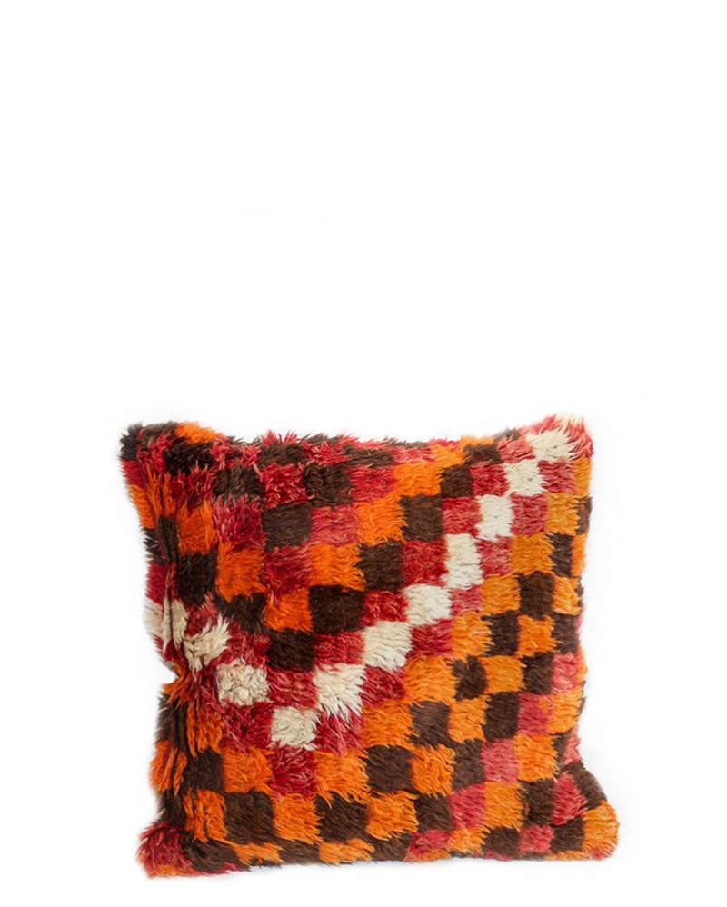 Checkered Kilim Pillow – The Littlest Fry