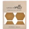 Gold Honeycomb Wall Decals – The Littlest Fry
