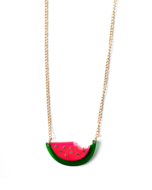 watermelon-necklace
