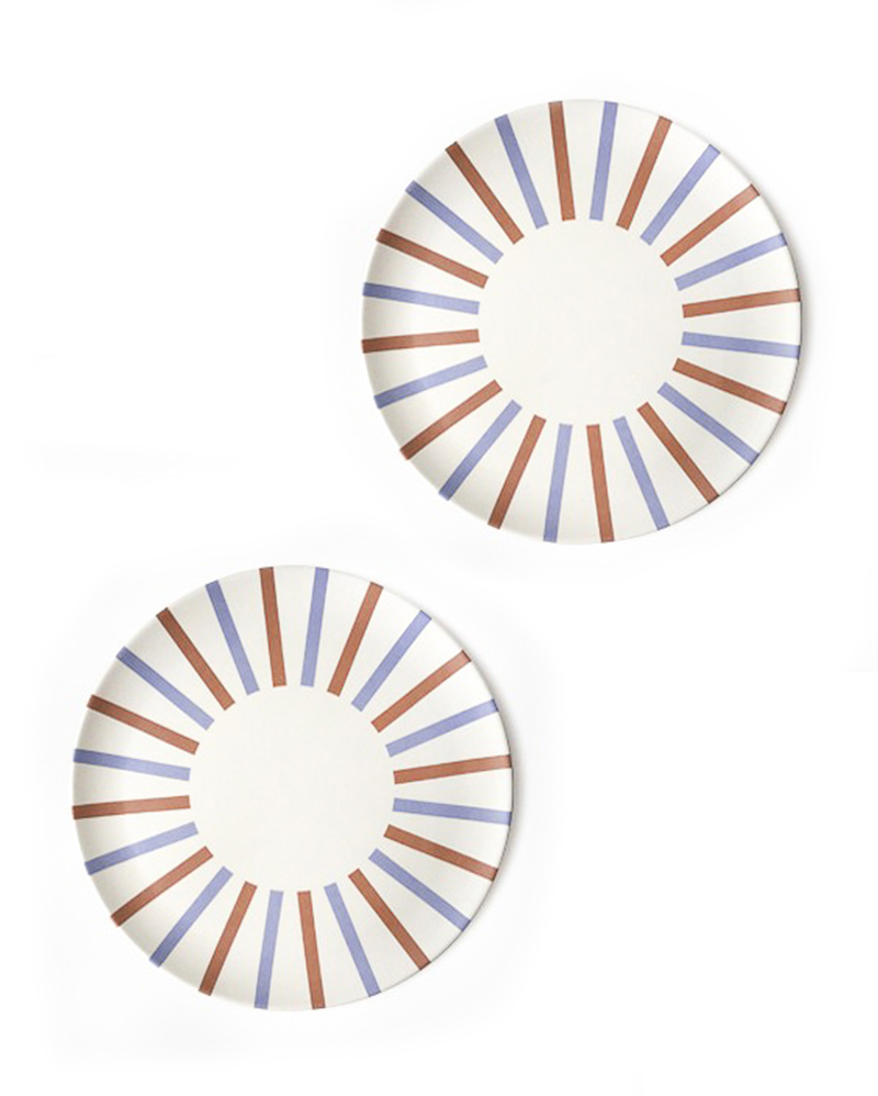 Retro Side Plates- The Littlest Fry