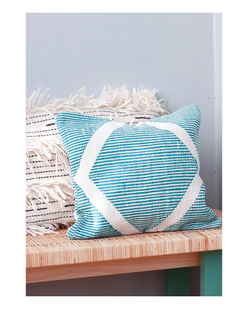 Riptide Cushion – The Littlest Fry
