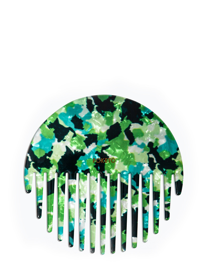 Green Circle Comb – The Littlest Fry